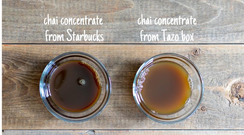 Iced Chai Latte: Starbucks Recipe