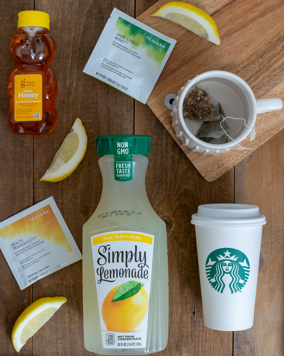 Homemade Medicine Ball Tea: Starbucks Recipe