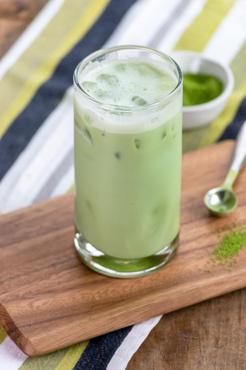 DIY Starbucks Iced Matcha Green Tea Latte Recipe - Sweet Steep