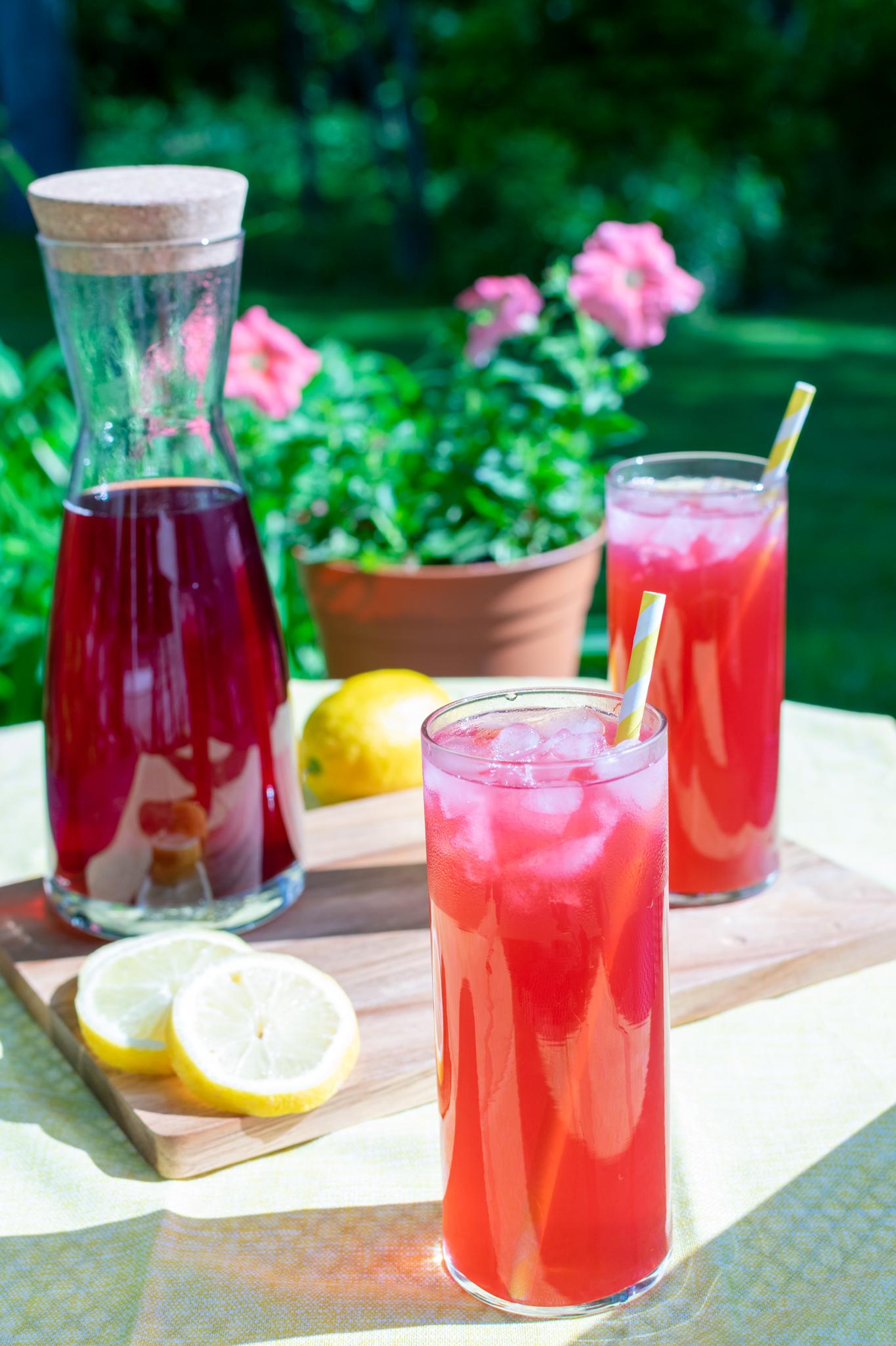 Passion Tango Tea Lemonade Recipe