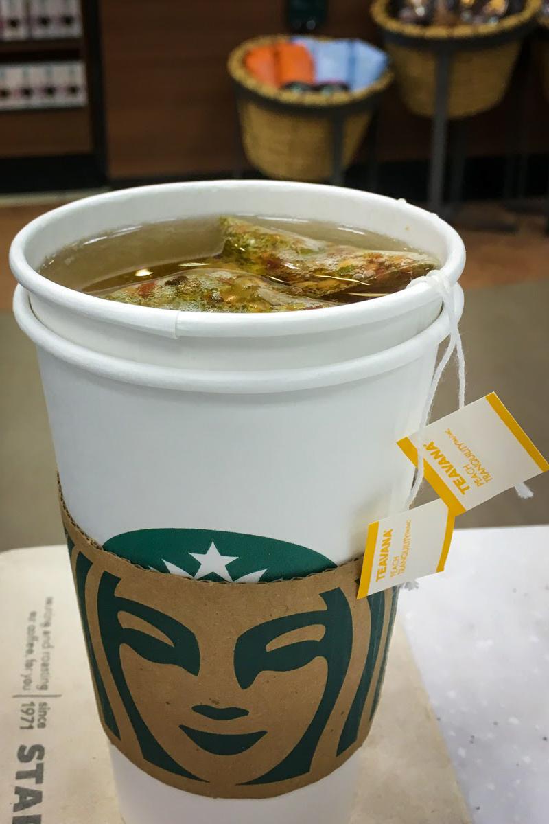 Starbucks Caffeine-free Tea Drinks